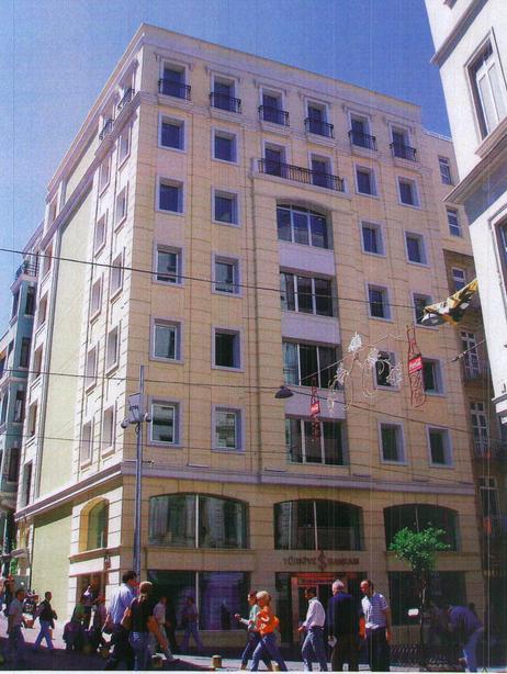"""T. İş Bankası A.Ş.-İstanbul-Parmakkapı Şubesi """"Yapı Güçlendirme ve Sistematik Şube Tasarım Uygulaması"""""""