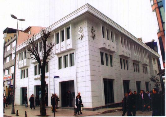 T.İş Bankası A.Ş.- Beyazıt Şube ve Hizmet Binası İnşaatı