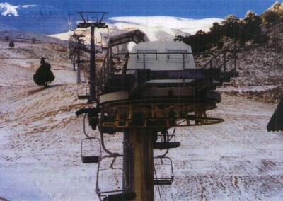 Davraz Dağı Kayak Merkezi Yeni Telesiyej Tesisi