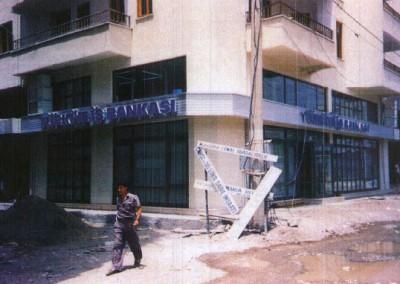 T. İş Bankası A.Ş. – Antalya – Kumluca Şube Binası Onarımı