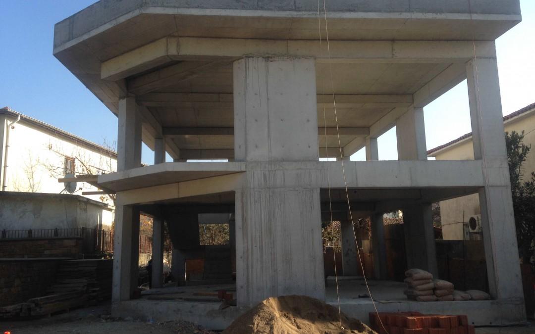 T. İş Bankası A.Ş.- Gökçeada Şube Binası İnşaatı
